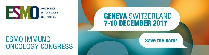 ESMO Immuno Oncology Congress Geneva – December 7-10