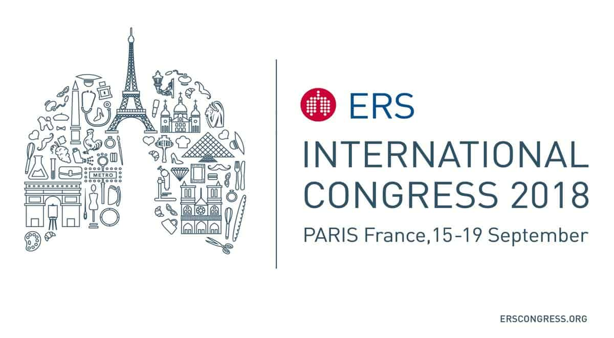 ERS International Congress 2018 – Paris, France 15-19.09.2018