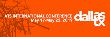 ATS- International Conference – Dallas, 17-22.05.2019